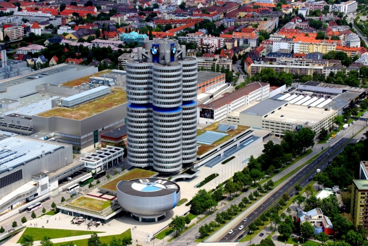 BMW Headquarters and Museum, Munich, Germany